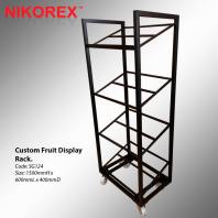 SG124 - Custom Fruit Display Rack