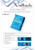 Voltech Active Direct Box for Amplifier