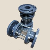 Flanged Inline Sight Glass