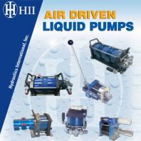 HII Air Driven Liquid Pumps
