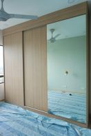 Wardrobe with melamine/Laminate