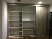 Built in wardrobe interior design in selangor