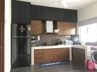 Melamine Kitchen cabinet design