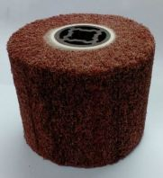 "EM108 Red wheel 4"" x 4 6/8"" polishing"