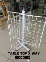 Table top x way