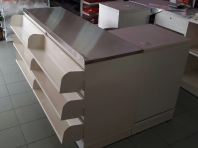 Oppa Cashier counter stainlesssteel
