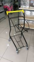 2 tier shopping basket
