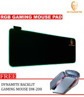 Dynamite RGB Gaming Mouse and Backlit Gaming Mouse DM 200 Silver
