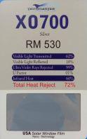 XO-700 SILVER 2 MIL
