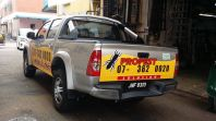 propest solution hilux sticker