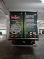 spring home lorry sticker