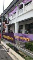 CHERIE HEARTS INTERNATIONAL PRESCHOOL PVC signboard