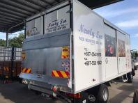 Newly Ten Food Industries Sdn. Bhd. Lorry sticker