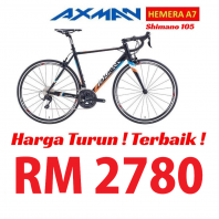 AXMAN HEMERA A7 SHIMANO 105 (COLORED)