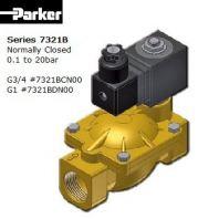 PARKER SOLENOID VALVE BRASS G1 #7321BDN00 (P/N.443786W)