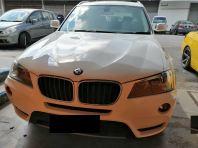 BMW X3 REPLACE DOOR PANEL HANDLE
