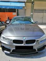 BMW F30 DASHBOARD REPLACE ALCANTARA WITH M PERFORMANCE LOGO