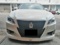 TOYOTA CROWN STEERING REPLACE LEATHER
