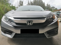 HONDA CIVIC REPLACE FULL SEAT LEATHER & CARBON LEATHER