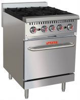 OPEN BURNER WITH OVEN
