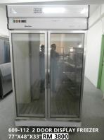 609-112  2 DOOR DISPLAY FREEZER RM5500