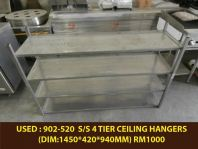 USED : 902-520 S/S 4 TIER CEILING HANGES