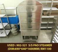 USED : 902-521 GAS PAO STEAMER