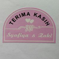 Wedding sticker