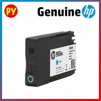 HP 955XL Cyan Original Ink Cartridge(L0S63AA) - for HP OJ PRO 8720 / HP OJ PRO 8210