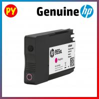 HP 955 XL Magenta Original Ink Cartridge(L0S66AA) - for HP OJ PRO 8720 / HP OJ PRO 8210