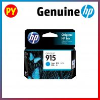 HP 915 Cyan Original Ink Cartridge (3YM15AA)