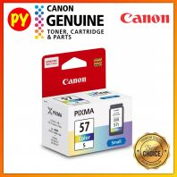 Canon CL-57s CL 57s CL57s (Small-8.7ml) Original Ink Cartridge - for printer E410 / E470 /E3170