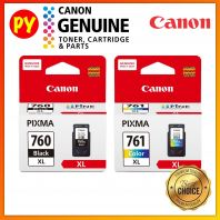 Canon PG760BXL + CL-761CXL Set Original Ink Cartridge PG760XL CL761XL PG760BXL CL761CXL