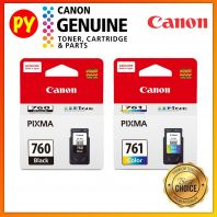 Canon PG-760 + CL-761 Set Original Ink Cartridge PG760 CL761 PG 760 CL 761