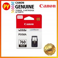 Canon PG-760 Black Ink Cartridge Original PG760 PG 760