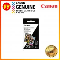 Canon 2x3  ZINK Photo Paper Pack (20sheets) For iNSPiC PV-123 PV123 PV 123 CV-123 CV123 CV 123 ZV-12