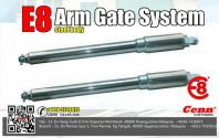 E8  Arm Gate System ( Steel Color)