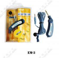 MINI TIE CLIP CONDENSER MICROPHONE YOGA EM-3