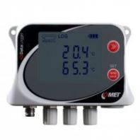 Temperature data logger for four external Pt1000 probes