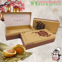 8pcs Shanghai Mooncake Box @ 18pcs x RM6.40/pc