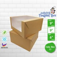 "Cake Box 11 9""x9""x6"" @ 15pcs x RM4.80/pc"