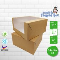 "Cake Box 12 11""x11""x6"" @ 15pcs x RM5.40/pc"