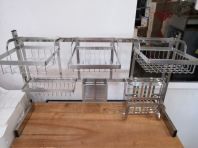 Model-900mm(7pcs) S/Steel Rack