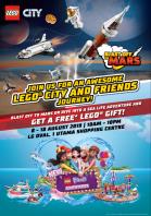LEGO® CITY AND FRIENDS JOURNEY IS COMING TO ONE UTAMA, KUALA LUMPUR