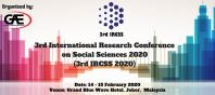 International Research Conference on Social Sciences