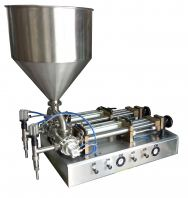 HPF-D series paste filling machine - double nozzle