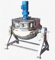 JACKETTED STAINLESS STEEL MIXING TANK