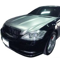 W221 SL Coupe Look Front Hood Aluminum