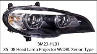 X5 E70 Headlamp projector w/drl xenon type