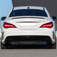 Mercedes Benz CLA W117 2017 CLA45 Look Rear Bumper